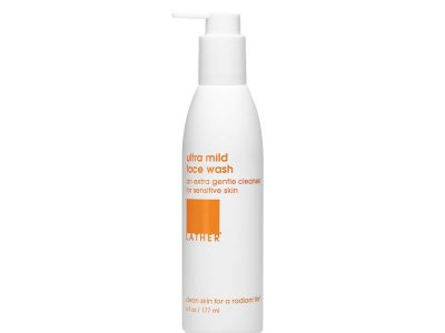 LATHER Ultra Mild Face Wash in USA 2021